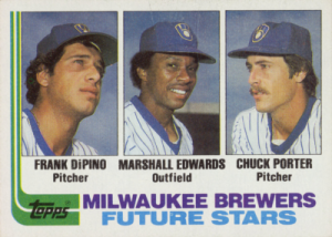 1982 Topps Brewers Future Stars