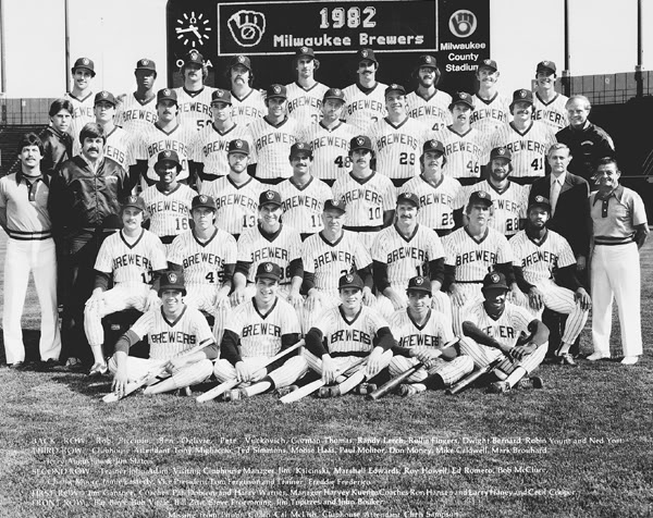 Brewers 1982 - Covering the Milwaukee Brewers throughout the 1982 season,  in real-time, as it would have happpened.