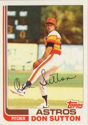 1982 Topps Don Sutton